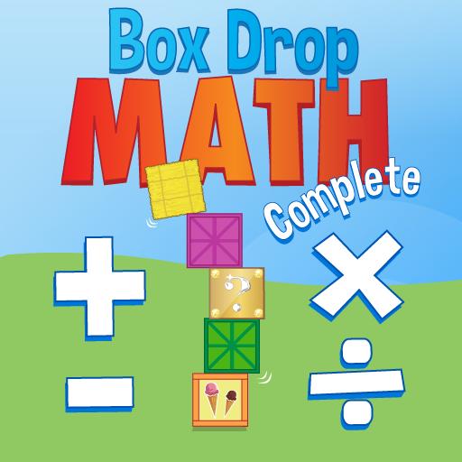 教育のボックスドロップ数学が合計:練習は基本的な知識を習得します LOGO-記事Game