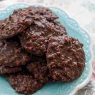 Chocolate No Bake Cookies.