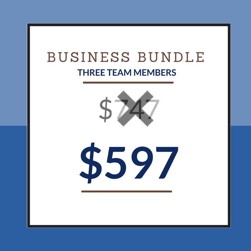 Business Bundle - 3 Students