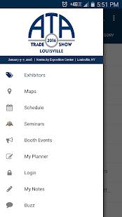 2016 ATA Trade Show screenshot