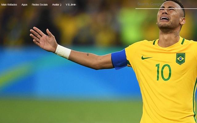 Neymar Papel de Parede Tab Themes
