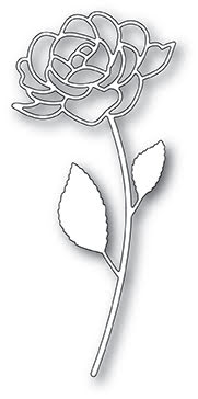 Poppystamps Die - Rose Stem