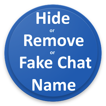 Hide|Remove|Fake Chat name for imo with 1 click