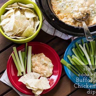 Slow Cooker Buffalo Chicken Dip