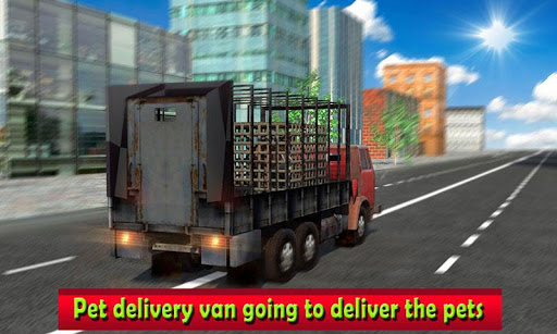 Pet Home Delivery: Van