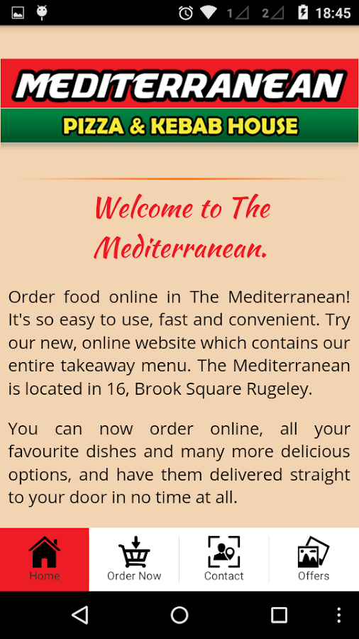 The Mediterranean- screenshot