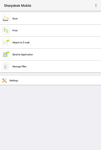 Sharpdesk  Mobile 2.4.2 Windows u7528 1