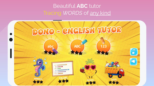 ABC, Numbers, Words, Animals, Toys Tracing  screenshots 1