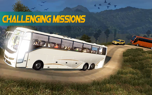 Bus Simulator : Bus Hill Driving game 1.3.8 screenshots 1