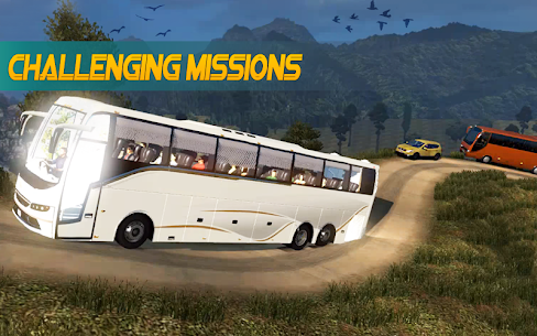 Bus Simulator : Bus Hill Driving game 1
