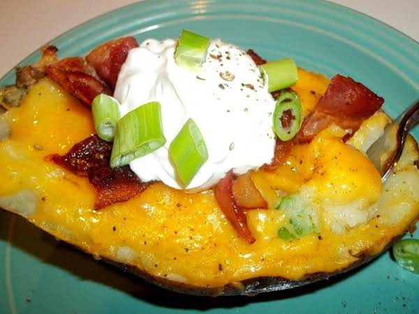 ~ Twice Baked Potato ~ Recipe
