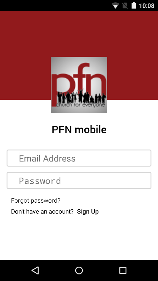 PFN mobile- screenshot