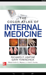 The Color Atlas of Internal Medicine Screenshot