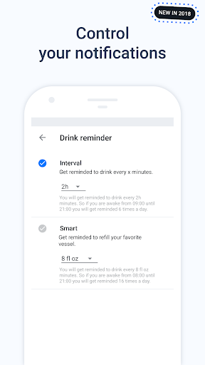 Hydro Coach - Water Drink Reminder & Water Tracker 4.0.58 screenshots 7
