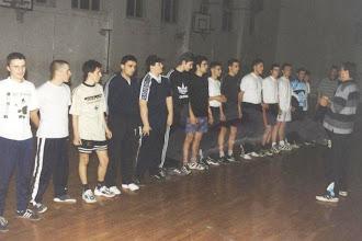 Photo: Trening u dvorani od srednje škole, prije nego to smo dobili dvoranu