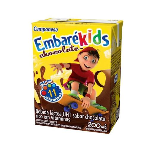 bebida chocolatada embare kids 200 ml