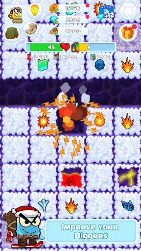 Digger 2: dig and find minerals screenshots 2