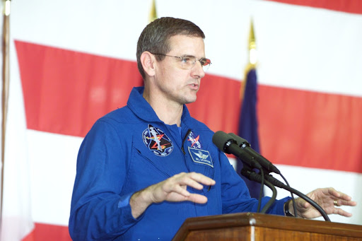 STS-92 crew return to Ellington Field
