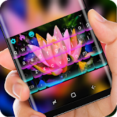Noen Night Lotus Keyboard Pink Waterlily