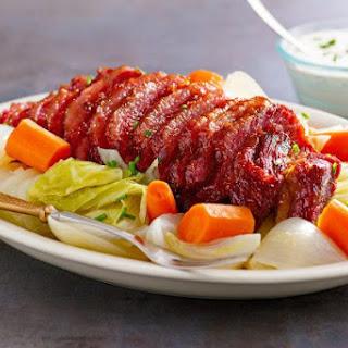 Irish Corned Beef Cabbage and Carrots Recipe