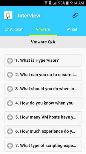 vmware interview questions