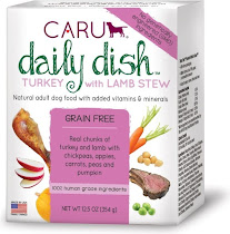 Caru Daily Dish Dog Food - Turkey with Lamb Stew, 12.5oz