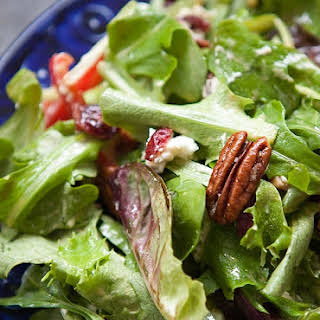 Mixed Green Salad With Balsamic Vinaigrette Recipes.