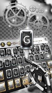 Tech Mechanical Gears keyboard - náhled