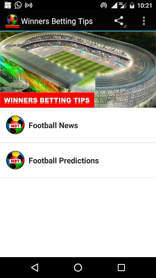 Winners Betting Tips - screenshot