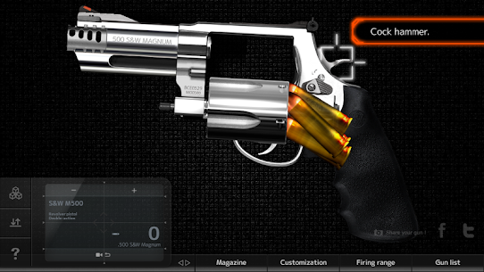 Magnum 3.0 Gun Custom Simulator MOD APK [Unlimited Money] 4