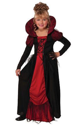 Vampyrdräkt, barn S