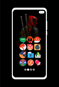 Supercons – The Superhero Icon Pack 2.3 Mod APK Latest Version 2