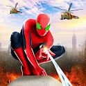Spider Rope Hero Man: Miami Vise Town Adventure icon