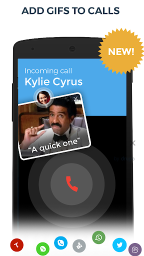 Contacts, Phone Dialer & Caller ID: drupe screenshot 2