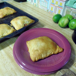 Crescent Pizza Pockets (vegan)