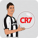 Cristiano Ronaldo Pixel - Color by number Neymar icon