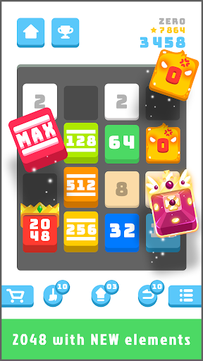2048 Daily Challenges - Best pastime & brain game 1.3.2 screenshots 1