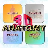 ANATOMY 3D - Human Anatomy, Animal, Plant, Insect