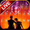 Romantic Lovers Keyboard Theme icon