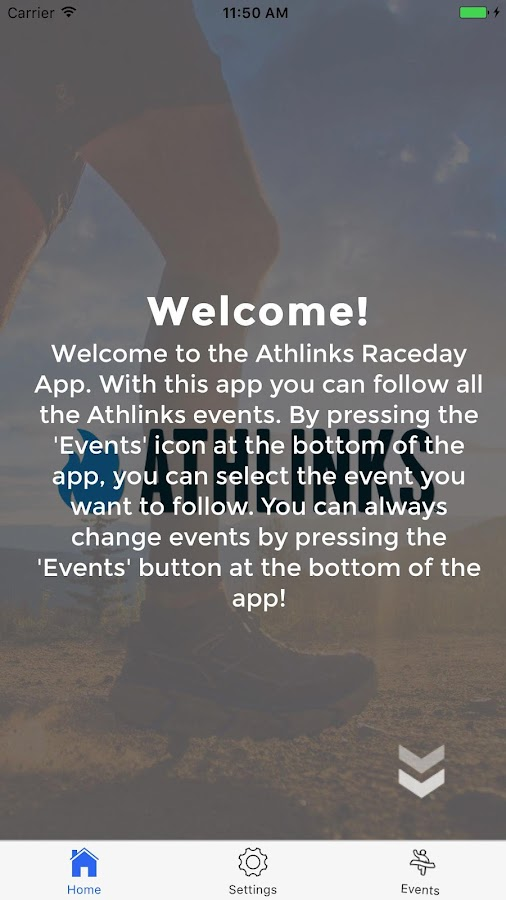 Athlinks Race Day- screenshot