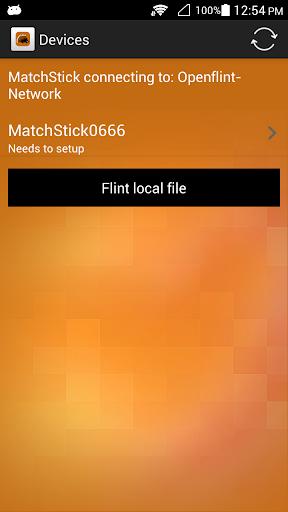 Matchstick setting