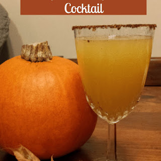 Spiced Pumpkin Cocktail.