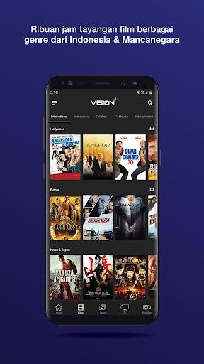 Vision+ : Nonton TV & Film Streaming modavailable screenshots 6