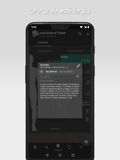 The 20 - RPG Companion App apktram screenshots 7