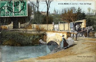 Photo: Athis-Mons (S.-et-O.) — Pont de l'Orge