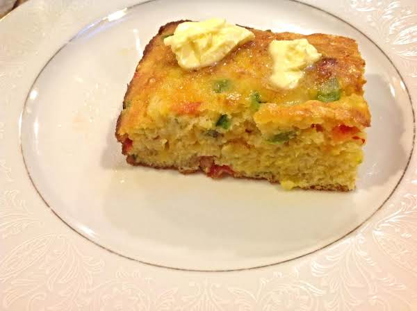 Texas Style Rainbow Corn Bread