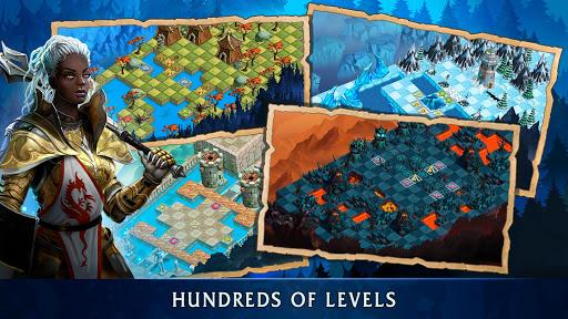 Heroes of War Magic.  Turn-based strategy 1.4.0.3 screenshots 3