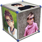 3D Photo Cube Live Wallpaper Icon