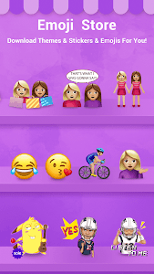 Facemoji Keyboard + GIFs screenshot 3