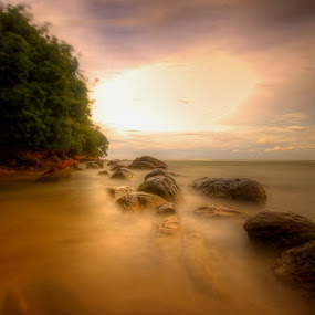 The long Rock~ by Kay Eimza - Nature Up Close Rock & Stone
